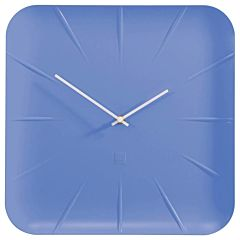 Blauwe design wandklok WU141SI
