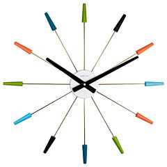 Plug-in design klok multicolor NE2610VI