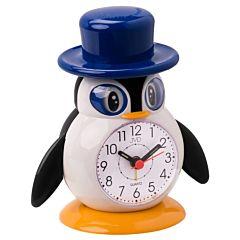 Kinderwekker pinguin met hoed SR52-5J