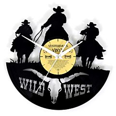Lp klok Wild West