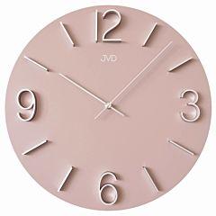 Wandklok roze HC35-3J
