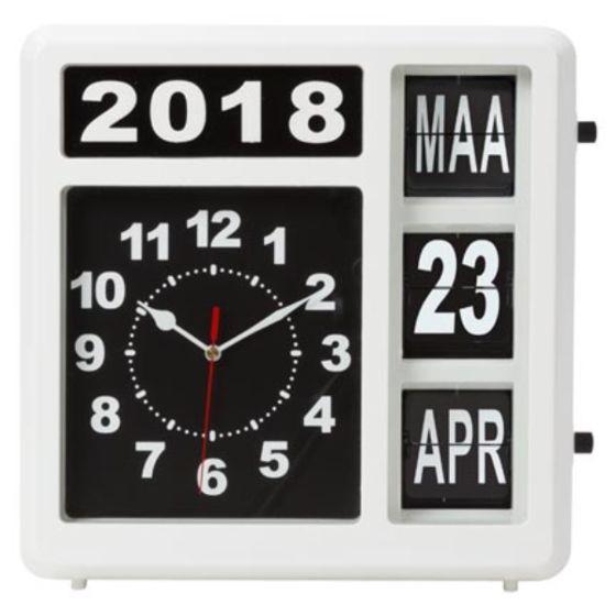 Kalenderklok Nederlandstalig WC10600NL