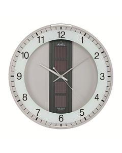Zonne-energie wandklok 9369