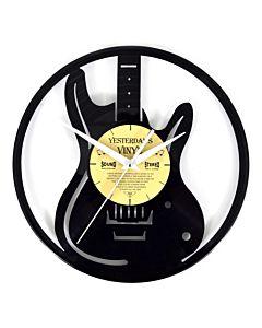 Lp klok met gitaar