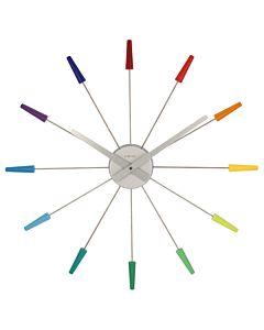 Plug-in wandklok multicolor NE2610DI