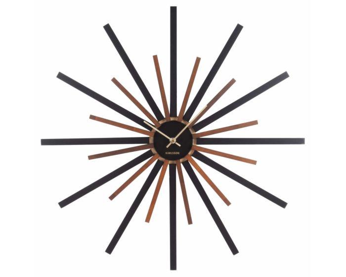 Grote design wandklok KA5820